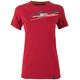 La Sportiva Stripe 2.0 Shortsleeve Shirt Women red